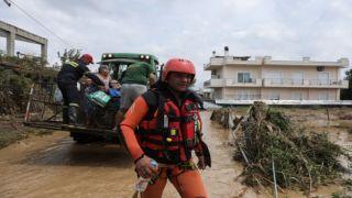 Катастрофическое наводнение в Греции унесло жизни 5 человек