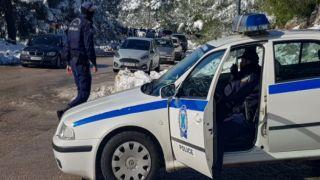 Снегопад в Греции: кольцевая дорога Пентели-Неа Макри закрыта