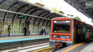 Девушка бросилась под поезд Афинах