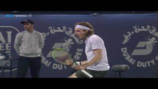 Стефанос Циципас – полуфиналист турнира в Дубаи
