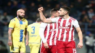 Суперлига Греции 14 тур. «Сухие» победы грандов греческого футбола