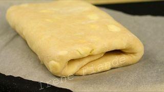 Быстрое слоёное тесто без яиц и дрожжей  за 10 минут