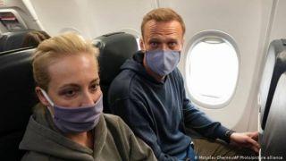 Россия: Навальный задержан в аэропорту Шереметьево
