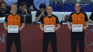 Баскетбольные арбитры Европы подверглись нападению после матча в Афинах