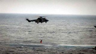 Вертолет береговой охраны Греции спас российских яхтсменов потерпевших бедствие на Хиосе