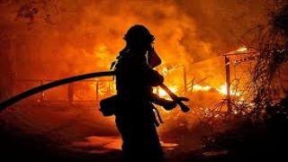 Высокий риск пожаров в Аттике