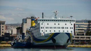 В порту Карпатос получило повреждение судно с 82 пассажирами