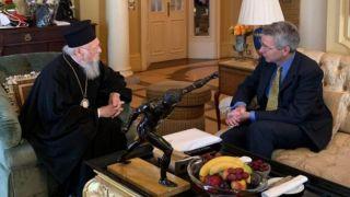 Посол США встретился с Вселенским Патриархом в Афинах