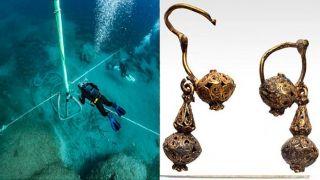 В обломках  корабля лорда Элгина найдены изысканные золотые украшения