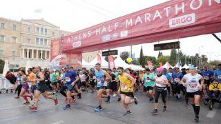 В Афинах состоялся 8-й Полумарафон