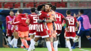 Победа Олимпиакоса в стартовом поединке Лиги чемпионов