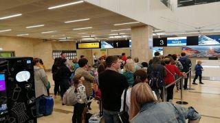 Видео драки сучастием россиян с персоналом аэропорта Салоник, попала в сеть