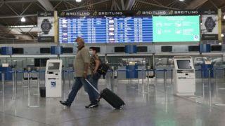 Греция: прибытие авиарейсов сократилось на 84%