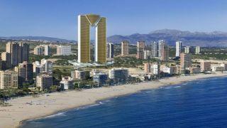 Испания: введен в эксплуатацию гигантский небоскреб