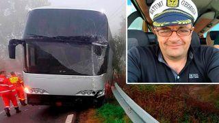 Подробности об аварии автобуса Афины - Одесса
