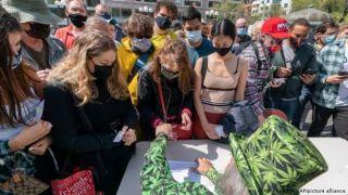 США: сделал прививку - затянись  «косячком»