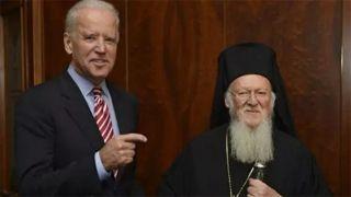Патриарх Варфоломей встретился с Байденом и Блинкеном