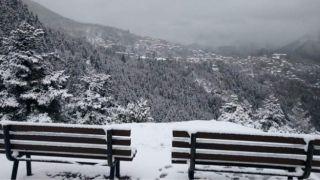 Полярный холод в Греции: температура достигла -17°С