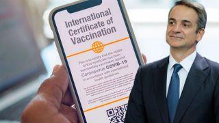 Мицотакис заявил, что сертификат вакцинации позволит возродить туризм