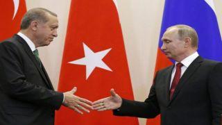 Переговоры Путина с Эрдоганом