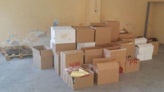 Афины: Оборот торговцев контрафактными сигаретами в университете за сутки - 3000 евро
