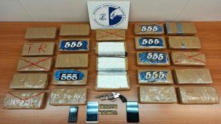 Греческая полиция конфисковала 28 кг кокаина