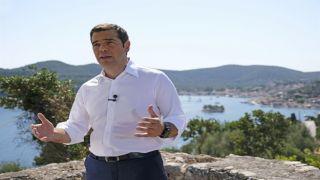 Обращение Ципраса к грекам с острова Итака