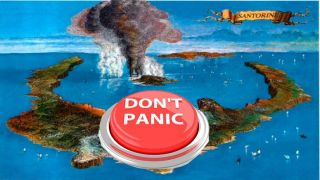 МВД Греции: с вулканом Санторини проблем нет