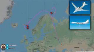 Российские Ту-160 держали на прицеле Лондон в ответ на пролет  B-52 над Черным морем..