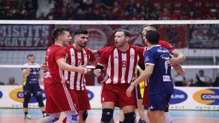 Волейбольный Олимпиакос был в шаге от исторической победы в еврокубках