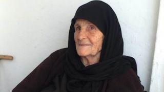Умерла старейшая жительница Крита