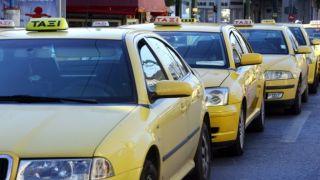 Восемь новых стоянок такси в центре Афин