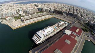 Прибытие круизных лайнеров в порт Пирей увеличится