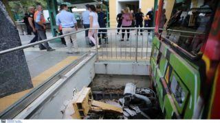 Происшествие в Кифисье закончилось благополучно для пятерых из восьми пострадавших