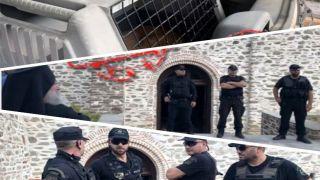 Любовь неземная?! Варфоломея на Афоне охраняют 100 полицейских с собаками