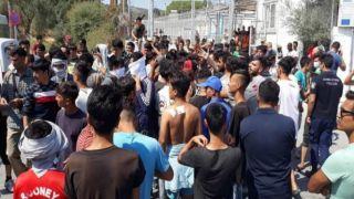 НПО, действующее в Мории, говорит о «греческой части Лесбоса»