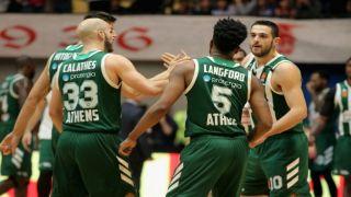 Панатинаикос: пятая победа подряд и возвращение в ТОП-8 баскетбольной Евролиги