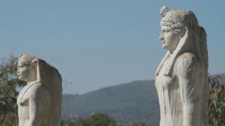 Вандалы уничтожили статуи египетских богов в святилище Изиды возле Марафона