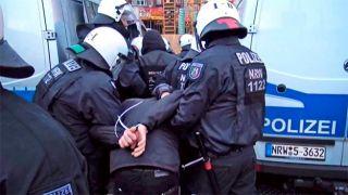 510 немецких полицейских устроили облаву на украинцев
