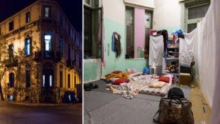 Выселение из заброшенных зданий мигрантов