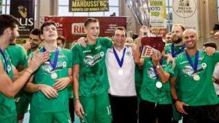 Панатинаикос – чемпион Греции по волейболу, после 14 лет ожидания