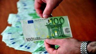 Поддельные 100 евро