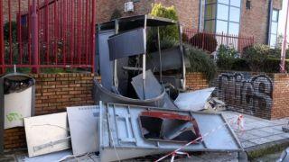 Взрыв банкомата в Агия Параскеви
