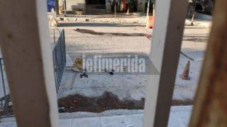 Анархисты напали на полицейский участок в Зографу