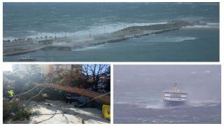 Ураганные ветры принесли значительный ущерб Греции