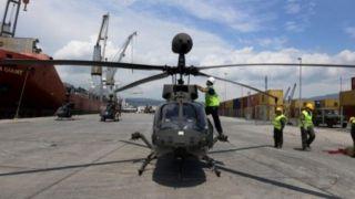 ВВС Греции пополнились новыми военными вертолетами