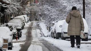 Афины:готовьтесь к снегопадам