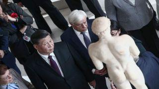 Си Цзиньпин заявил, что Китай поддержит Грецию в вопросе возвращения скульптур Парфенона.