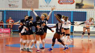 Греческие команды делают уверенный шаг к полуфиналу волейбольного Кубка Челлендж
