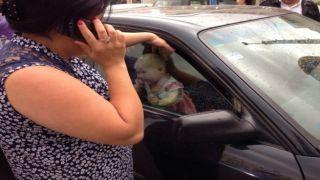 Крит: Заперла своего ребенка в машине